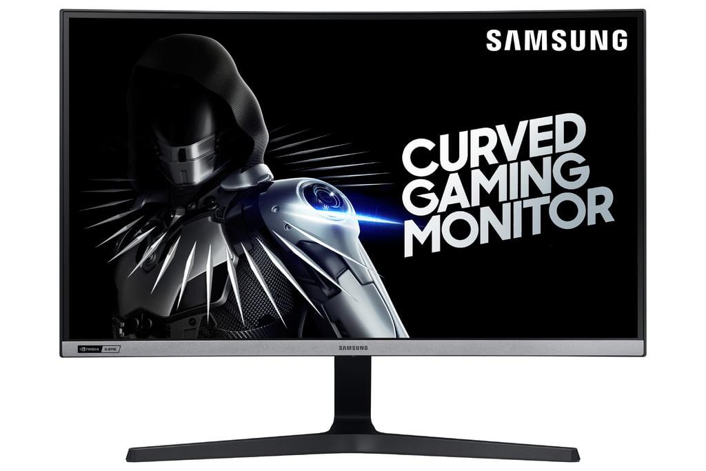 "SAMSUNG 27"" Class Curved HD PLS Panel (1920 x 1080) Gaming Monitor AMD Radeon - LC27RG50FQNXZA"