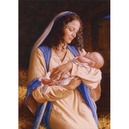 LPG Greetings Heaven's Perfect Gift : Mark Missman Box of 18 Religious Christmas Cards (Graduation Gift Card Box)