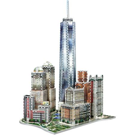 Wrebbit 3D 2011 Midtown West New York 3D Puzzle