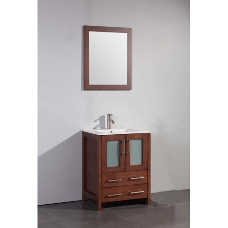 Legion Furniture WA7936C 36-in. Single Bathroom Vanity Set - Cherry