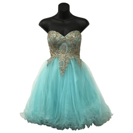 CORSET BACK HOMECOMING DRESS (Halloween Corset Dresses)