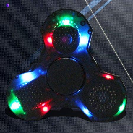 3 In 1 Fidget Hand Spinner Bluetooth Speaker Led Finger Spinner Wireless Speaker