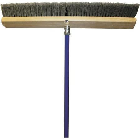 24 in. All Purpose Metal Handle Sweeper - - Metal Sweeper