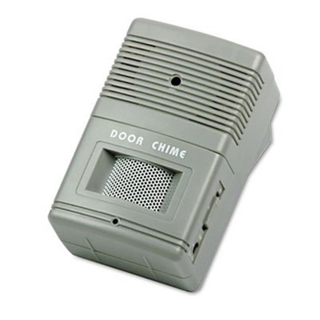 Tatco 15300 Visitor Arrival & Departure Chime, Battery Operated - Gray