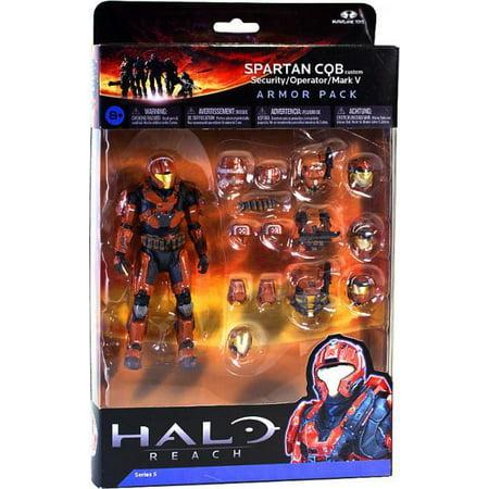 McFarlane Halo Reach Series 5 Spartan CQB Custom Armor Pack - Halo Spartan Armor For Sale