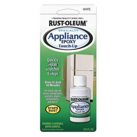 Rust-Oleum Appliance Touch Up Paint, White 203000