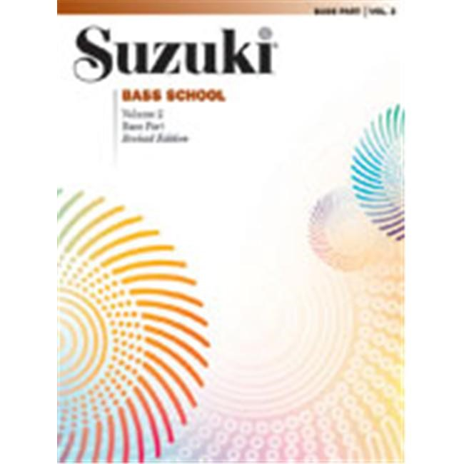 Alfred 00-0371S Suzuki Bass School Bass Part- Volume 2 - Music Book