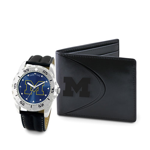 Game Time Watch & Wallet - College