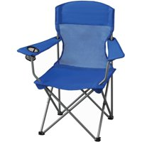 Deals on Ozark Trail Basic Mesh Folding Camp Chair with Cup Holder