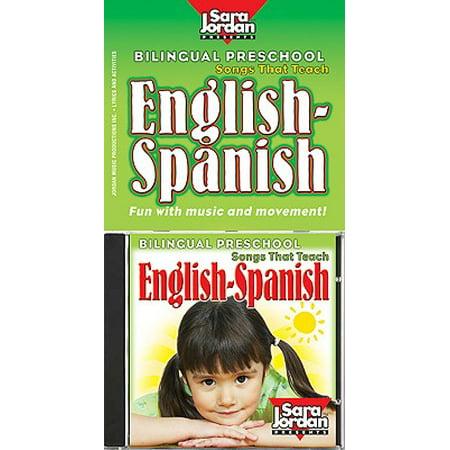 Bilingual Preschool English-Spanish [With CD (Audio)] - Preschool Songs Halloween