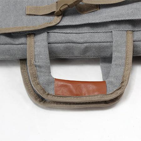 Art Portfolio Bag Case Backpack Drawing Board Shoulder Bag with Zipper Shoulder Straps for Artist Painter Students Artwork - image 7 de 8