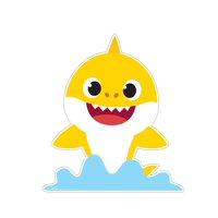 Baby Shark Cardboard Stand-Ups, 4ft (Both)