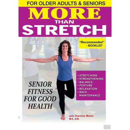 More Than Stretch: Senior Fitness for Good Health (DVD)