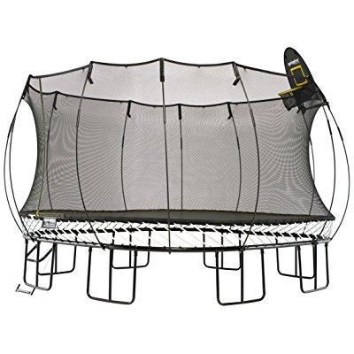 Springfree Trampoline 13ft Jumbo Square With Basketball