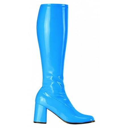 6bb7a6d8004 Pleaser - GoGo-300 Adult Shoes Blue - Size 5 - Walmart.com