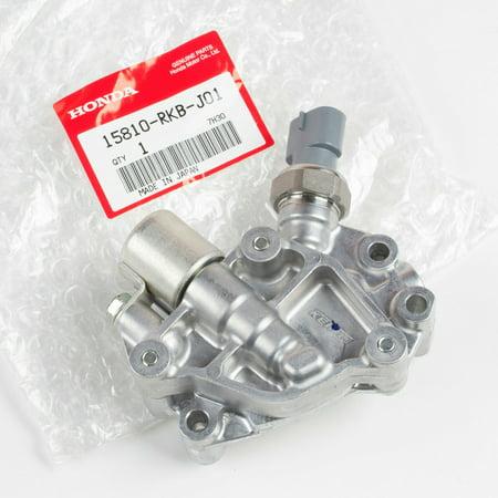 Genuine OEM Honda VTEC SOLENOID SPOOL VALVE W/ GASKET 15810-RKB-J01