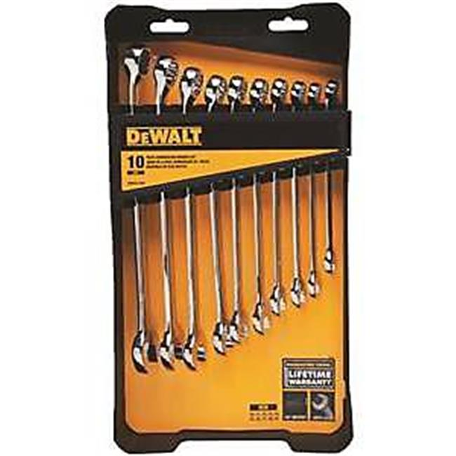 Stanley Tools 7514417 DWMT72166 Wrench Set Combination, 10 Piece