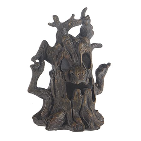 Light Up Haunted Tree Figure: Arms Raised - By Ganz](Haunted Tree Face)