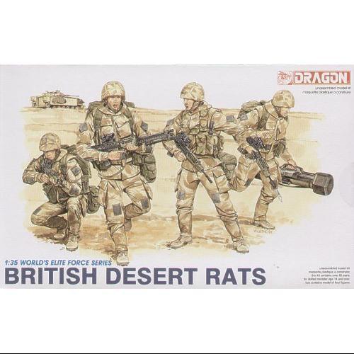 1/35 British Desert Rats Multi-Colored