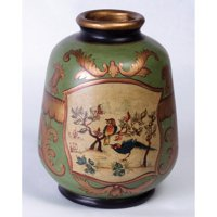 AA Importing Hand Painted Bird Table Vase