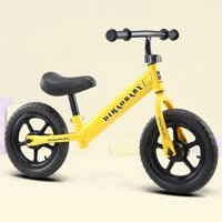 Novashion Sport Balance Bike for Kids and Toddlers,Adjustable Seat Height,No Pedal Toddler Push Walker Bike Kids Balance Bike,Sport Training Bicycle for Children Ages 2-6,Black,Yellow,Blue,Red,White