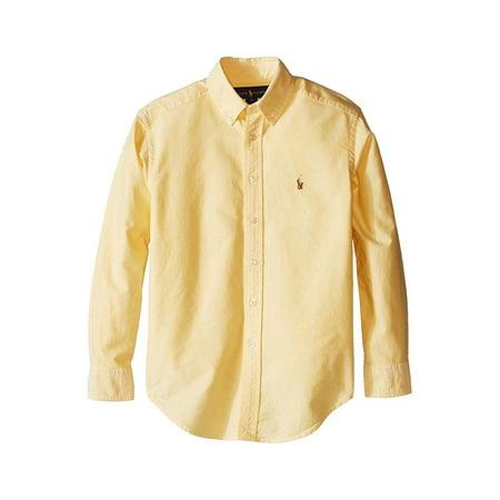 Polo RL Boy's(8-20) Long Sleeve Oxford Button Down -