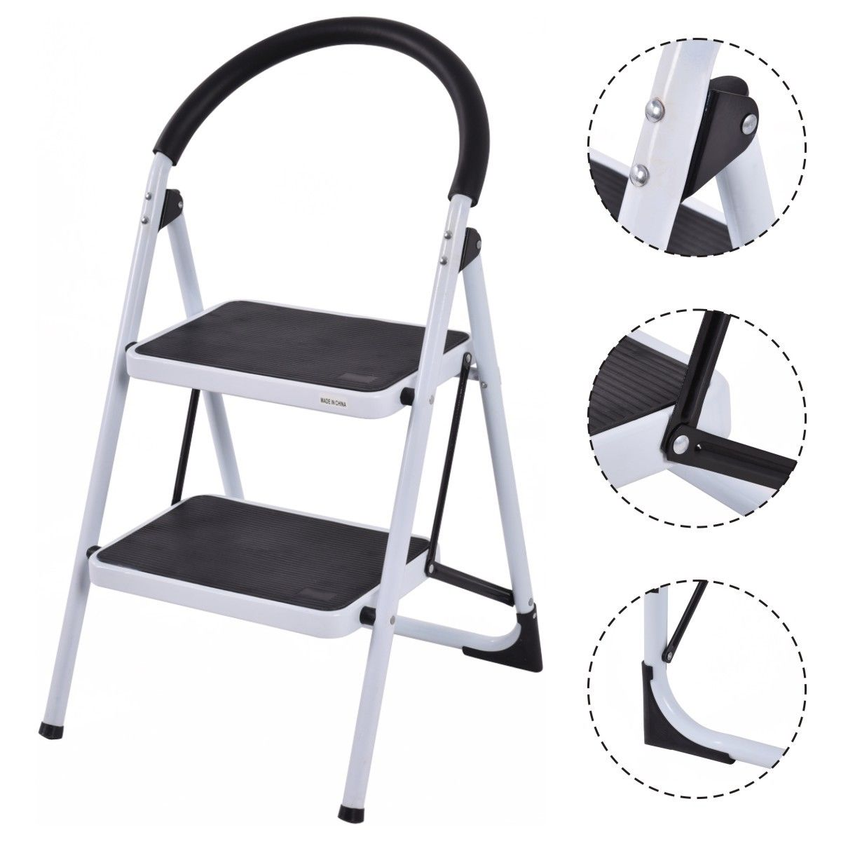 Rubbermaid 2 Step Stool White Get Quotations Rubbermaid