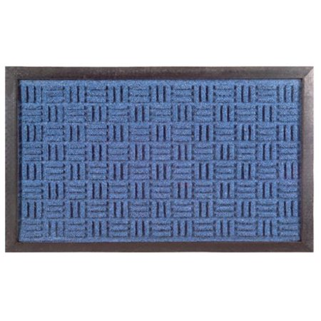 Imports Decor 860SMT Synthetic Rubber Mat - Blue