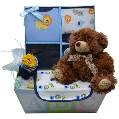 Sweet Baby Boy Gift Basket Sweet Baby Gift