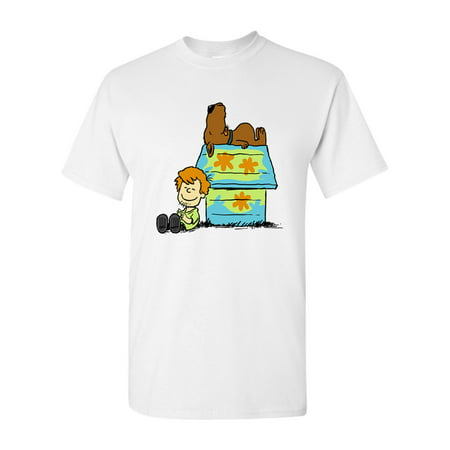 Scoopy Dog Cartoon Movie Salih Gonenli Artworks Funny DT Adult T-Shirt Tee
