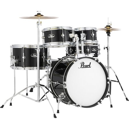 Drum Black Sparkle - Pearl Roadshow Junior 5-Piece Drumset w/ 16