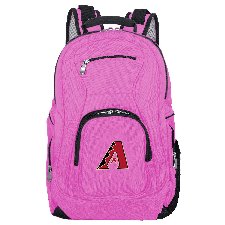 MLB Arizona Diamondbacks Pink Premium Laptop Backpack