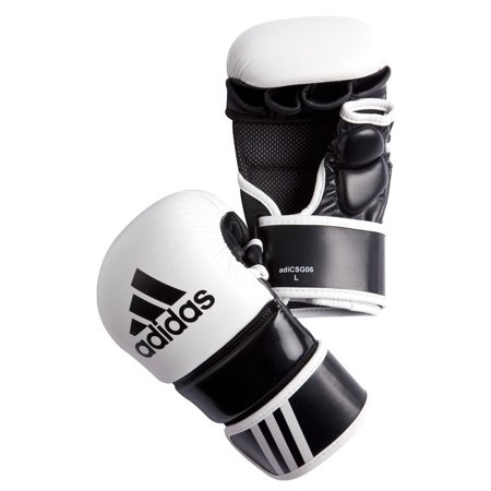 adidas MMA Leather Free Fight Gloves