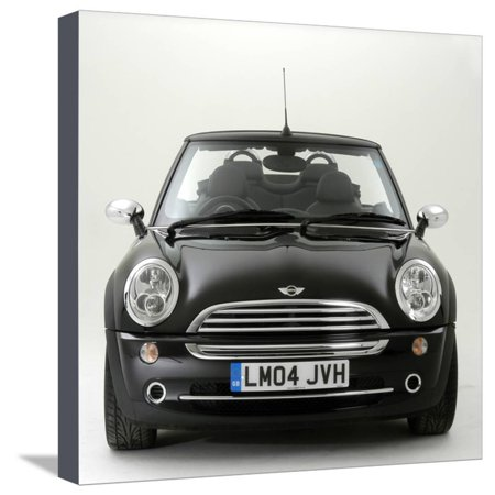 2004 Mini Cooper Convertible Stretched Canvas Print Wall (Stretch Mini Cooper)
