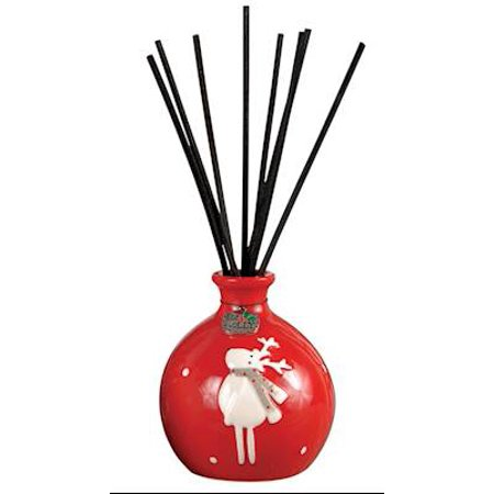 Merry Christmas Reindeer Reed Diffuser Cranberry Fragrance by Pomeroy
