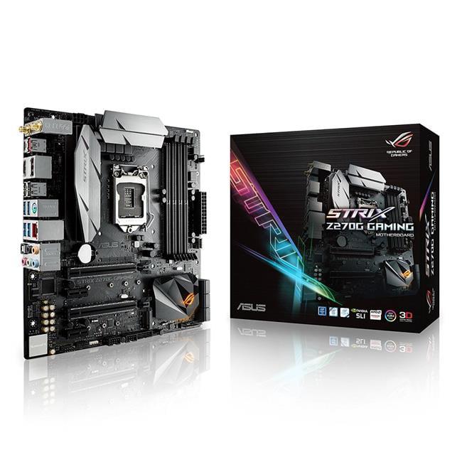 Asus ROG STRIX Z270G GAMING LGA1151 Z270 DDR4 Motherboard...