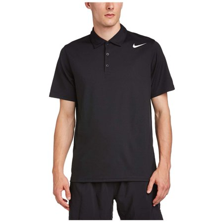 Nike men 39 s dri fit stay cool tennis polo shirt for Dri fit polo shirts for boys
