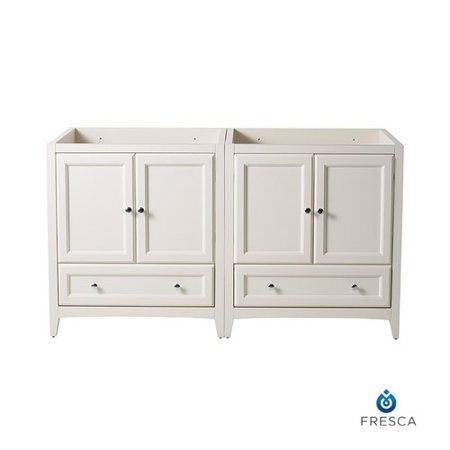 Fresca Oxford 71'' Double Bathroom Vanity Base Only ()