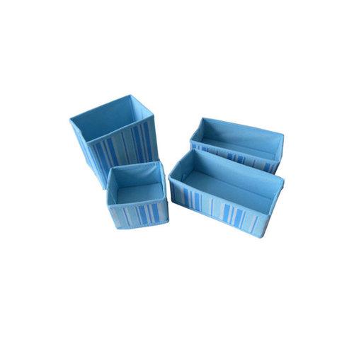 Bulk Buys UU343 Non-Woven Storage Boxes Case of 24