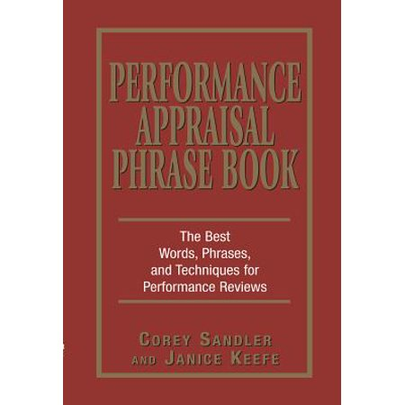 Performance Appraisal Phrase Book - eBook