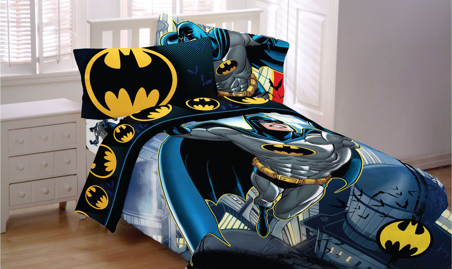 batman sheet set - walmart