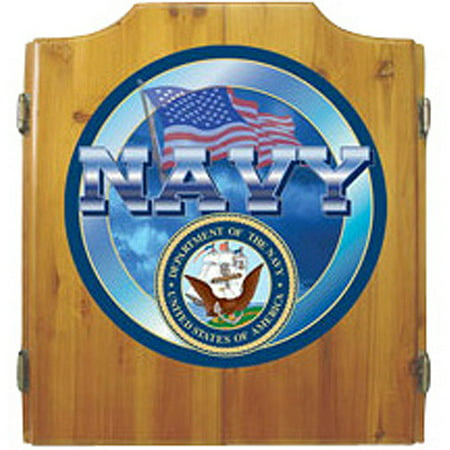 US Navy Cabinet with Darts and Board