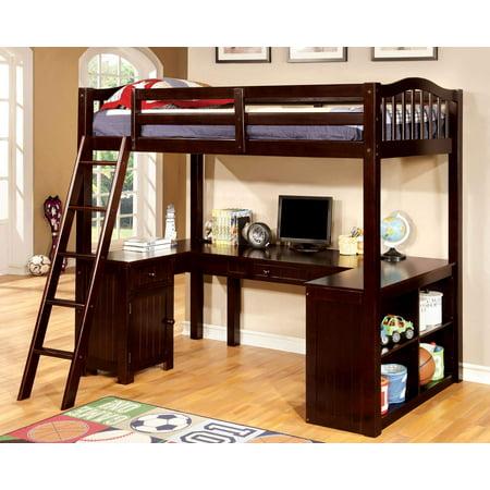 Furniture Of America Twin Loft Bed Desk Multiple