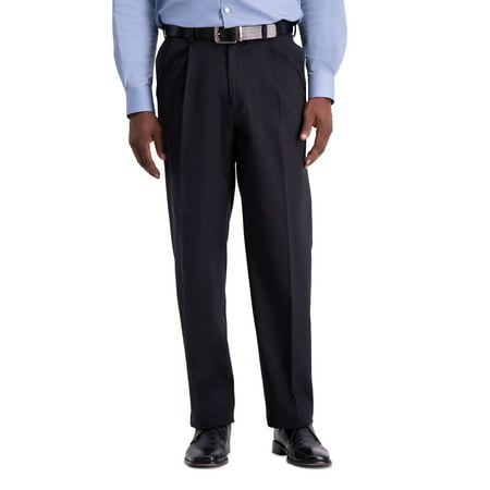 Haggar Men's Work to Weekend® Pro Pleat Pant (Best Work Pants For Plumbers)