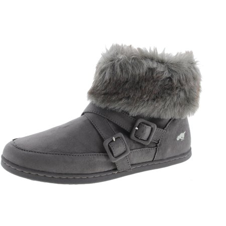 Rocket Dog Womens Halifax Coast Little Monster Faux Suede Ankle - Monster Boots