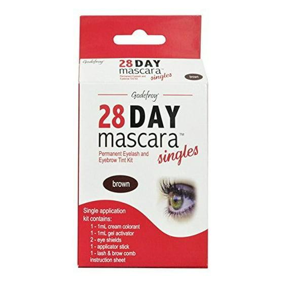 Godefroy 28 Day Mascara Permanent Eyelash and Eyebrow tint Kit ...