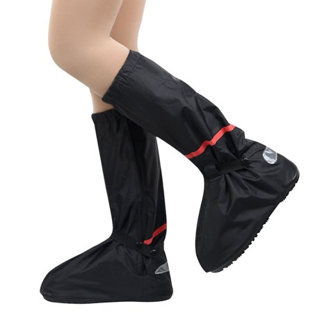 Waterproof Rain Shoes Cover Reusable Snow Boots Cover with Reflector Anti-slip Boots Gear Shoes Cover Women Men - image 3 de 7