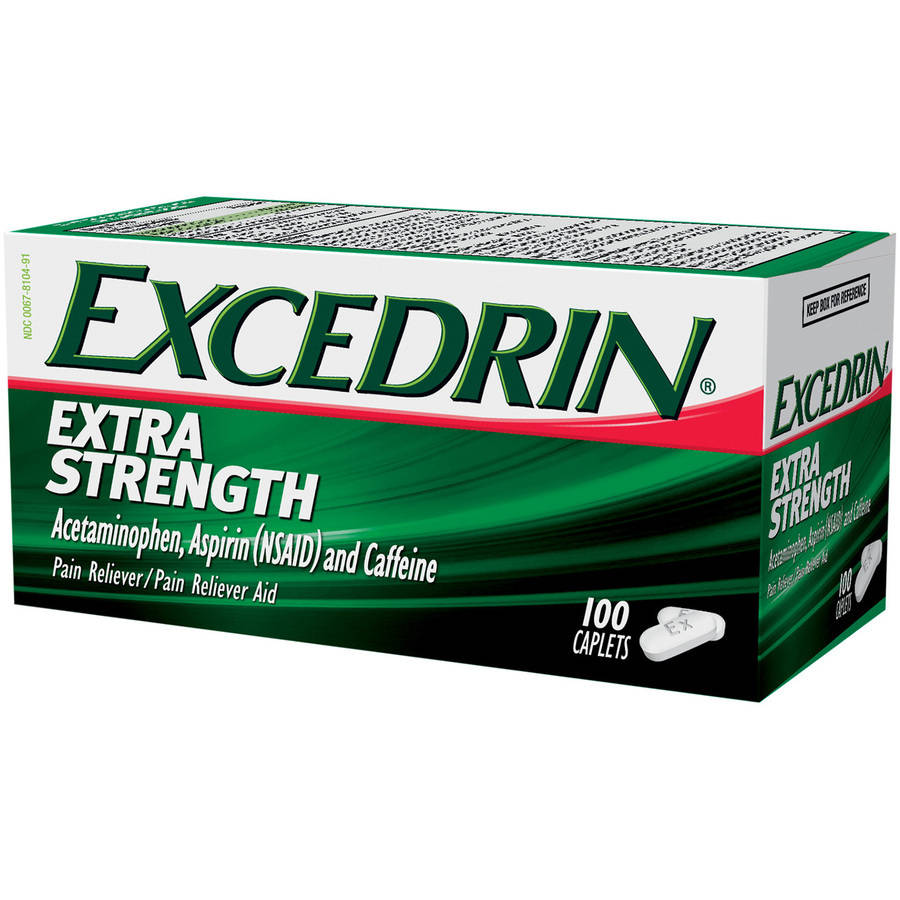 Excedrin Extra Strength, 100 CT (Pack of 3)