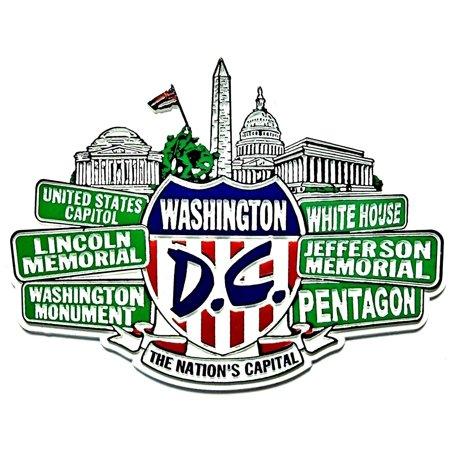 Washington D.C. Street Signs Fridge Magnet