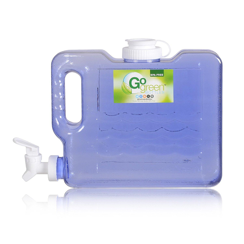 3 Liter Bottle Refrigerator Drinking Water W Faucet